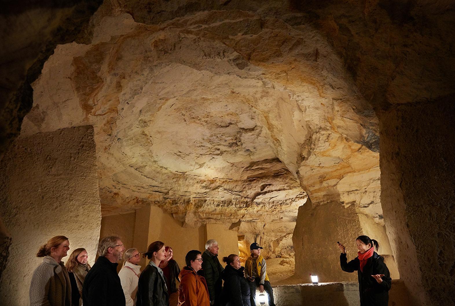 馬斯垂克地下洞穴行程