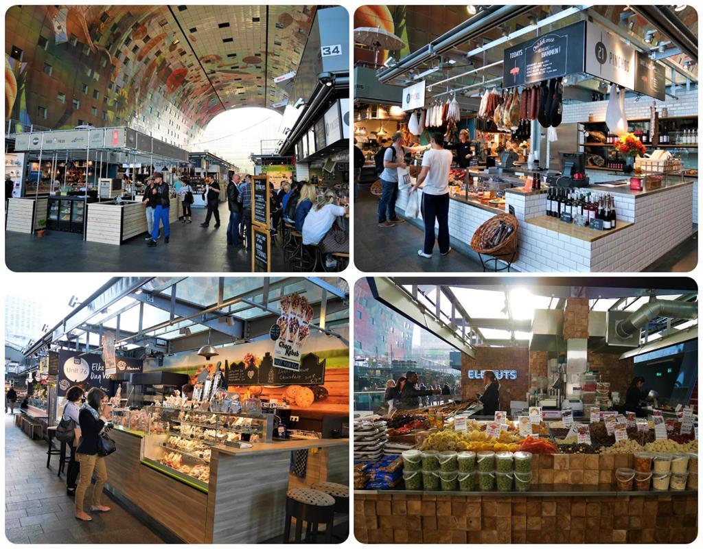 鹿特丹Markthal市場各式商家