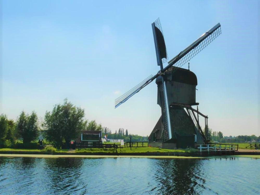 小孩堤防Blokweer Museum Mill