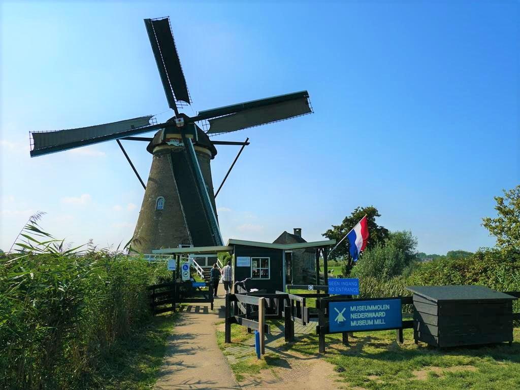 小孩堤防Nederwaard Museum Mill