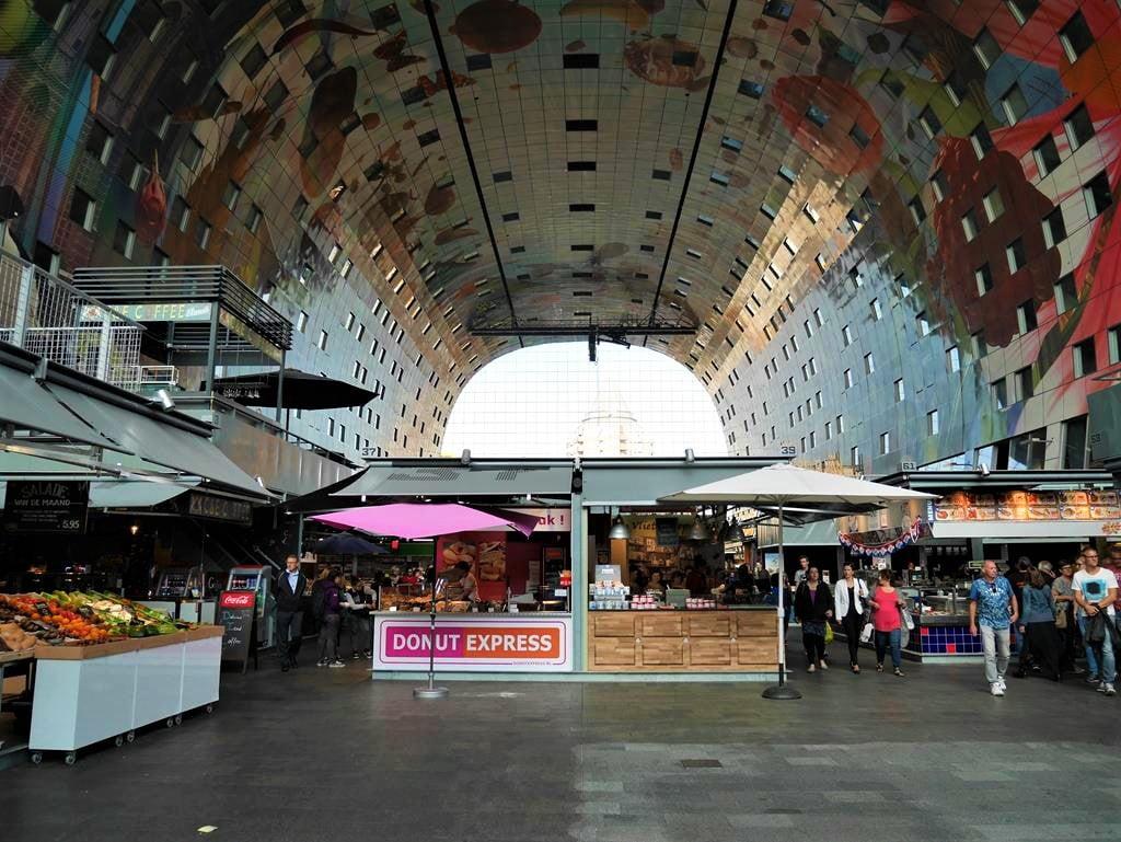 鹿特丹Markthal市場