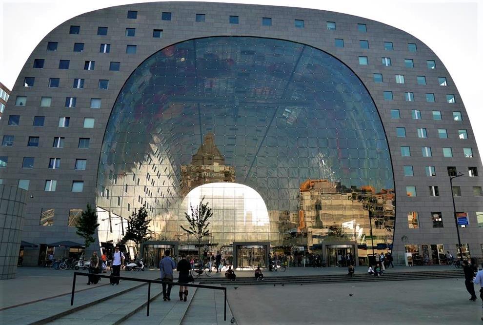 鹿特丹自由行Markthal市場