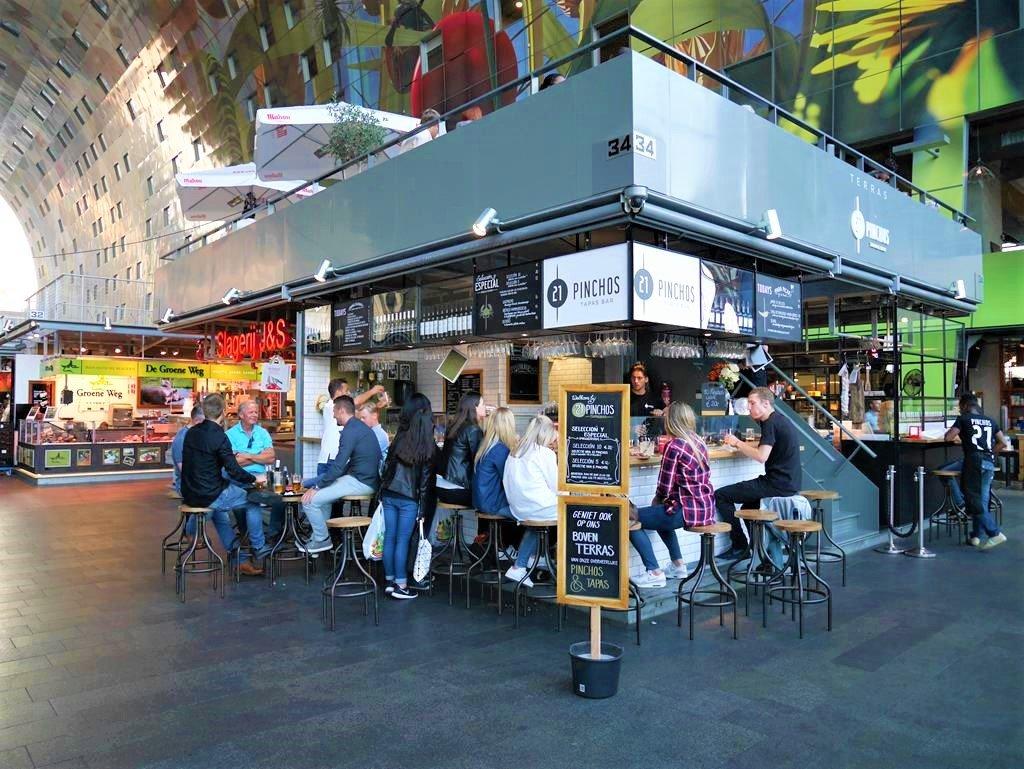 鹿特丹Markthal市場餐廳