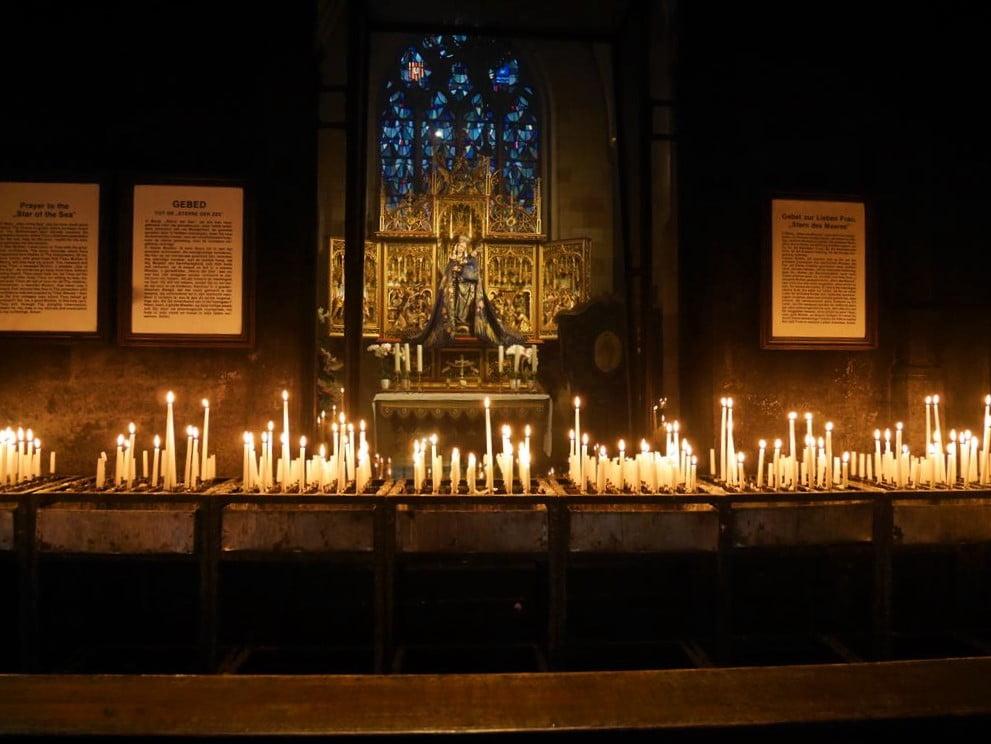 馬斯垂克聖母教堂海星聖母像