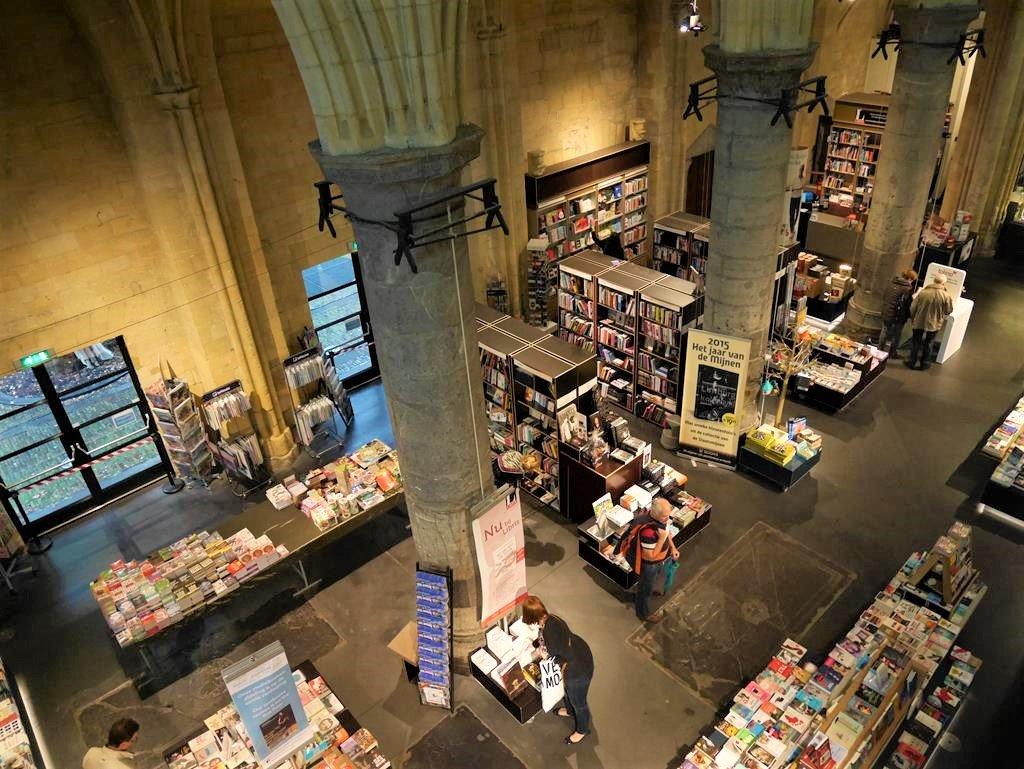 馬斯垂克自由行天堂書店