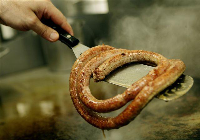 科隆Haxenhaus餐廳一公尺香腸