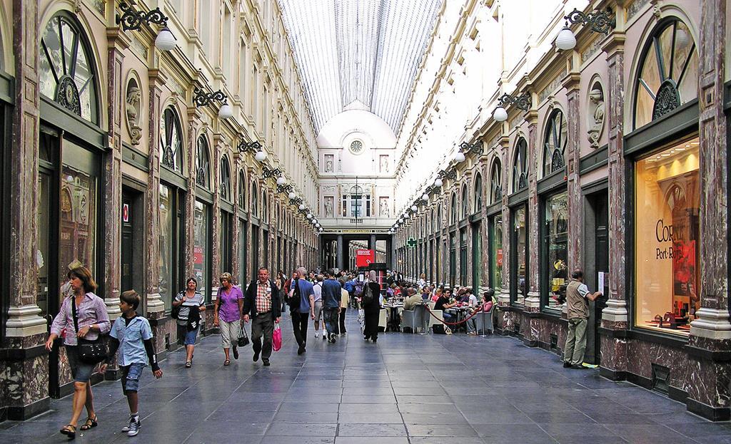 聖休伯特購物拱廊King's Gallery