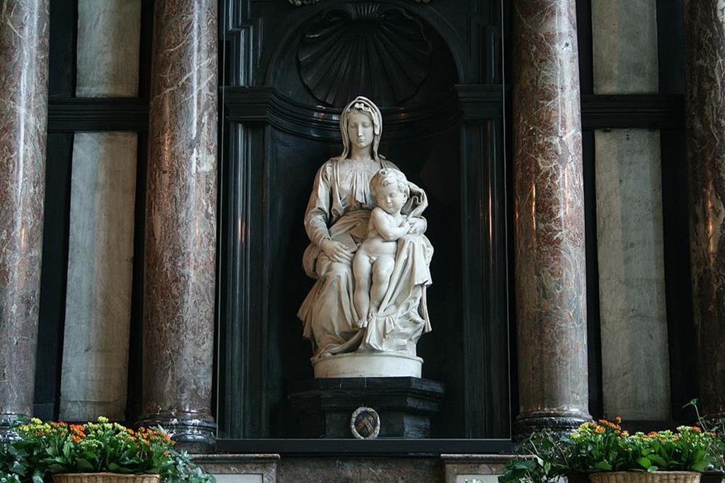 米開朗基羅-布魯日聖母像
