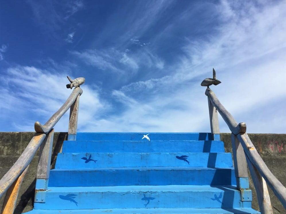 比西里岸部落海堤