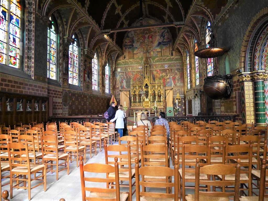 聖血聖殿上方哥德式教堂