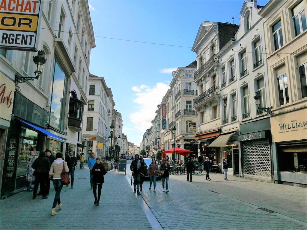 布魯塞爾街道