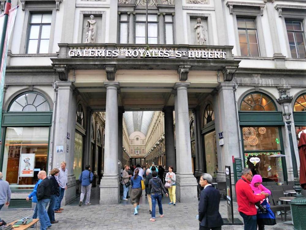 布魯塞爾聖休伯特購物拱廊
