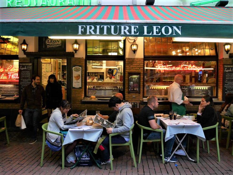 布魯塞爾Chez Leon餐廳