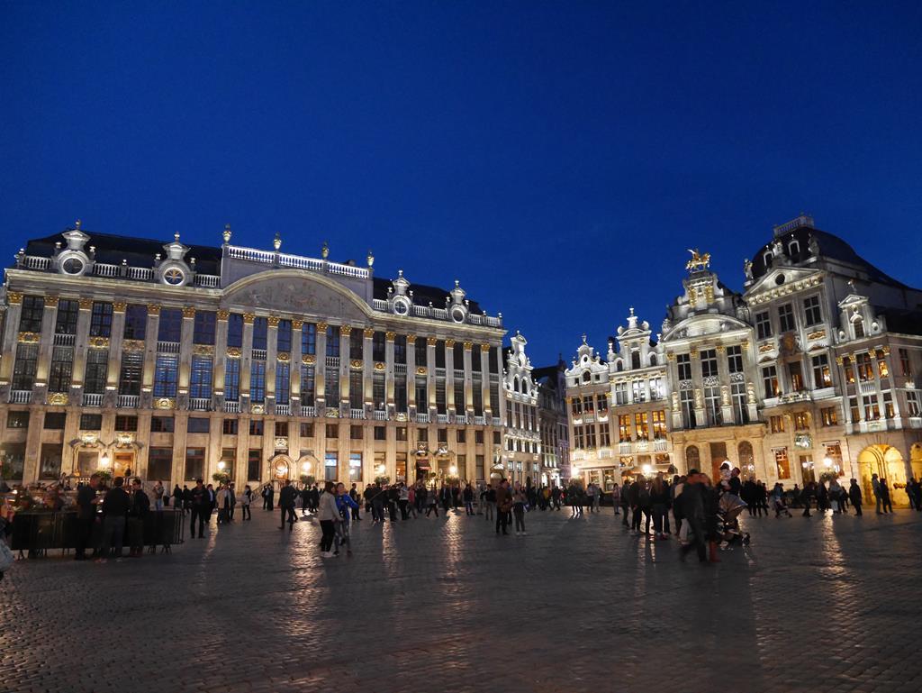 布魯塞爾大廣場夜景