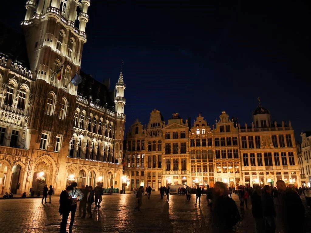 布魯塞爾自由行市政廳