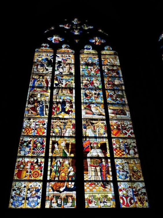 科隆大教堂玻璃花窗藝術