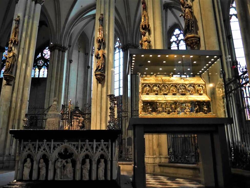 科隆大教堂東方三博士聖物