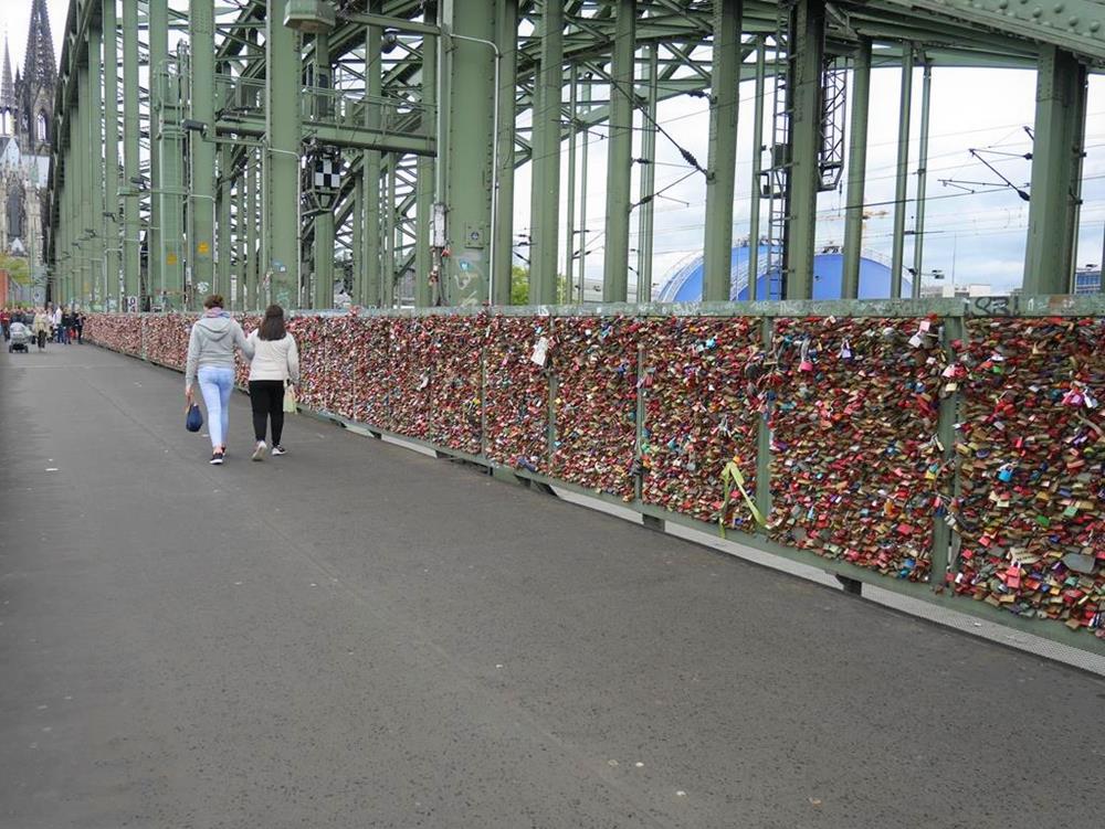 科隆景點霍亨索倫橋