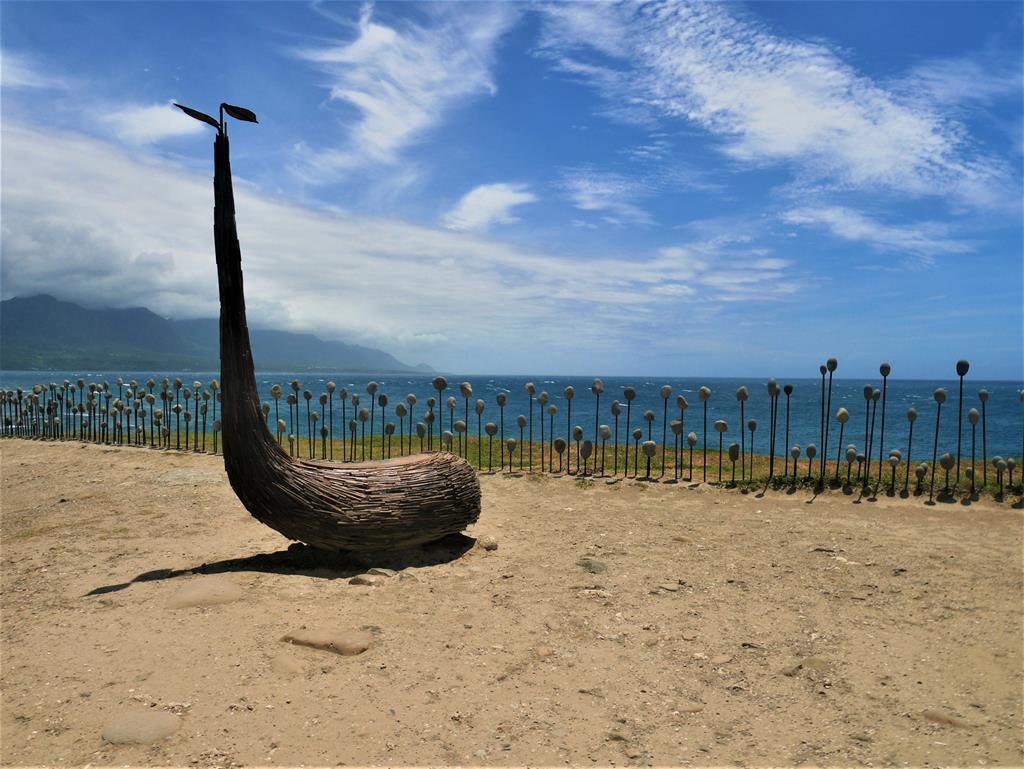 加路蘭東海岸大地藝術節作品
