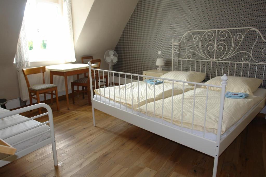 海德堡住宿Lotte Hostel雙人床房