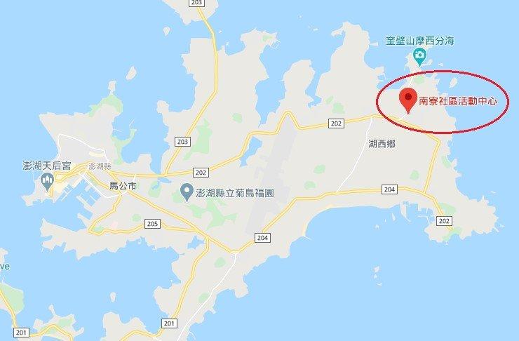 澎湖南寮位置