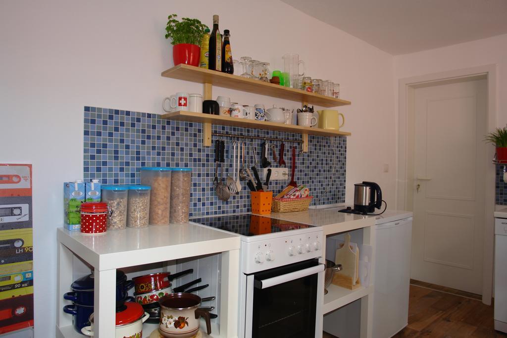 海德堡住宿Lotte Hostel廚房