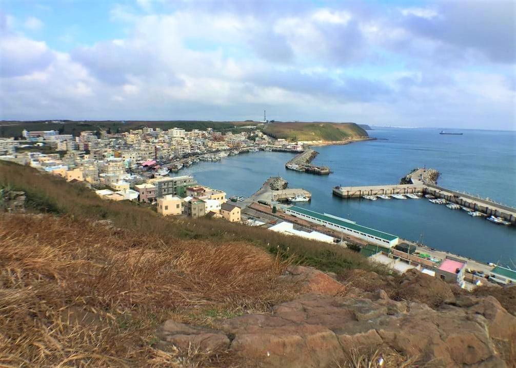 三仙塔眺望外垵漁港美景