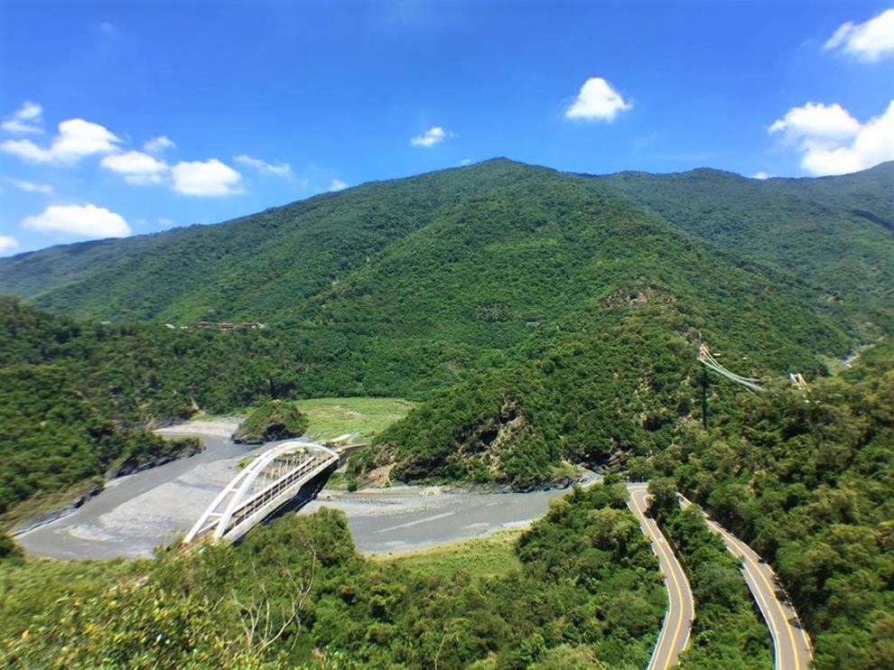 小長城木棧步道眺望景觀
