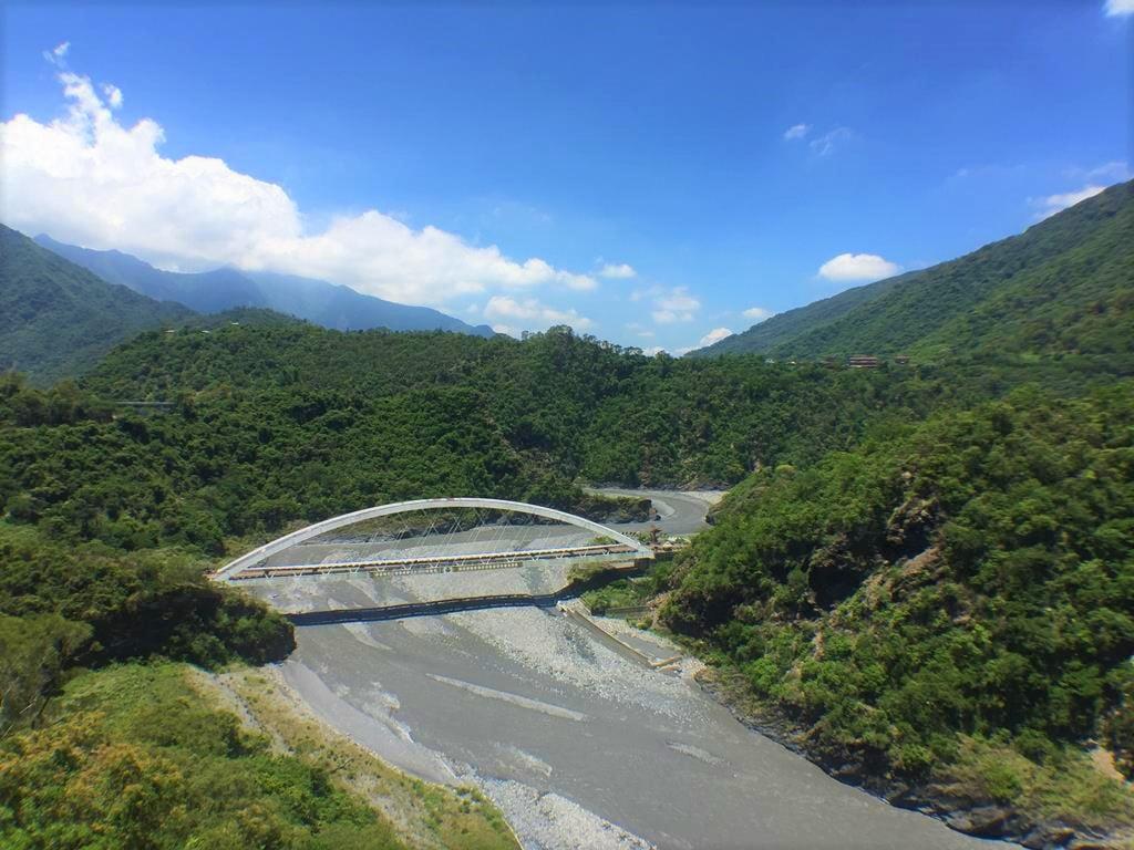 多納高吊橋眺望龍頭山