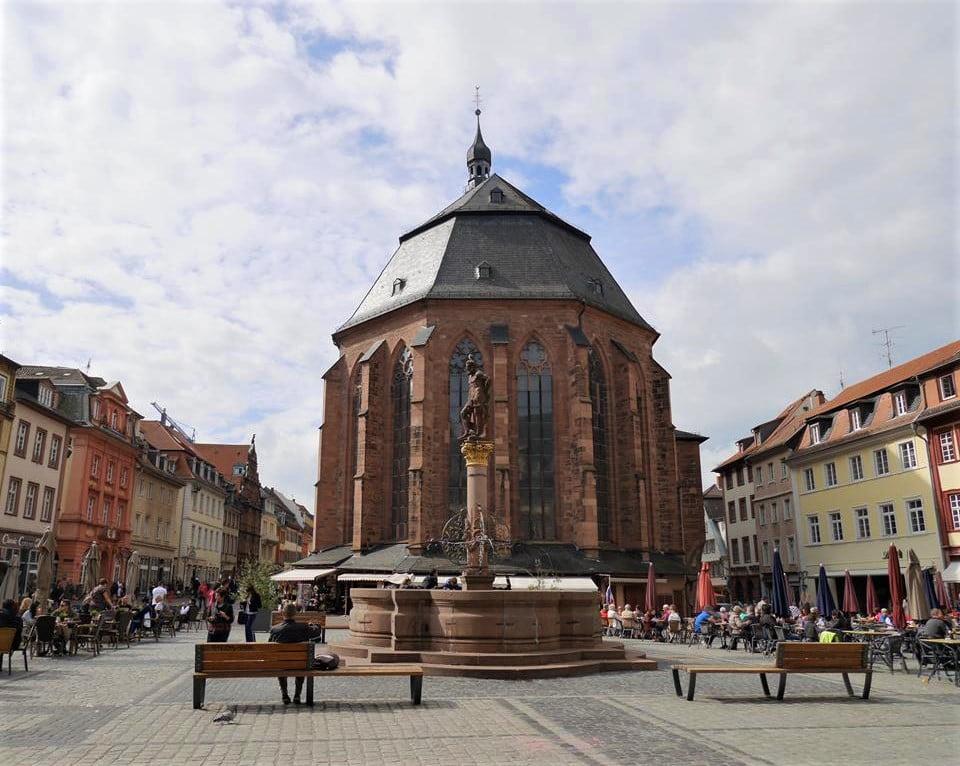 海德堡景點聖靈教堂