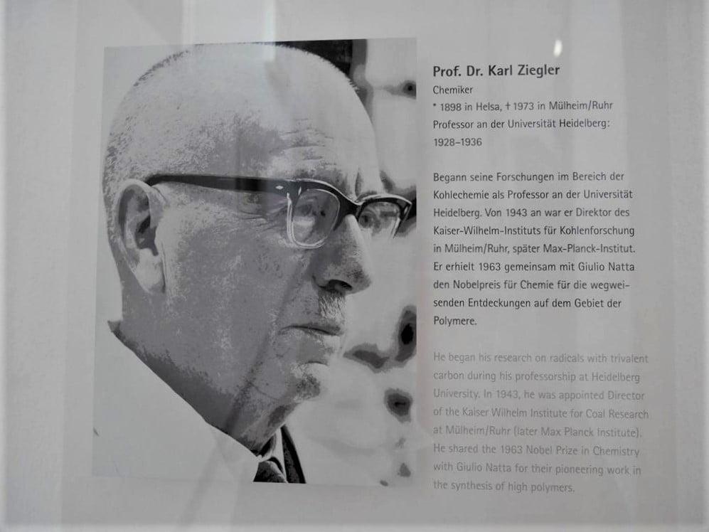 1963年諾貝爾化學獎得主Karl Ziegler