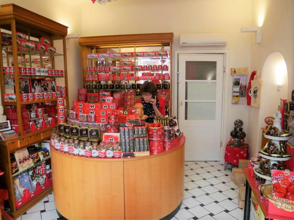海德堡學生之吻巧克力店