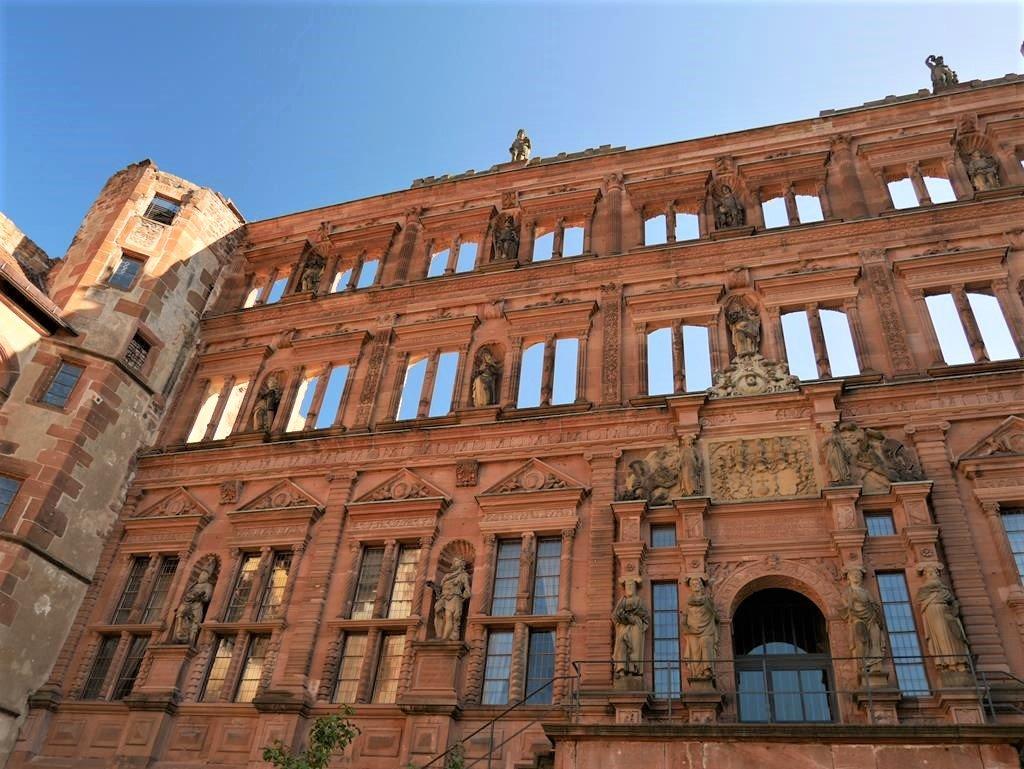 海德堡城堡Ottheinrich Building