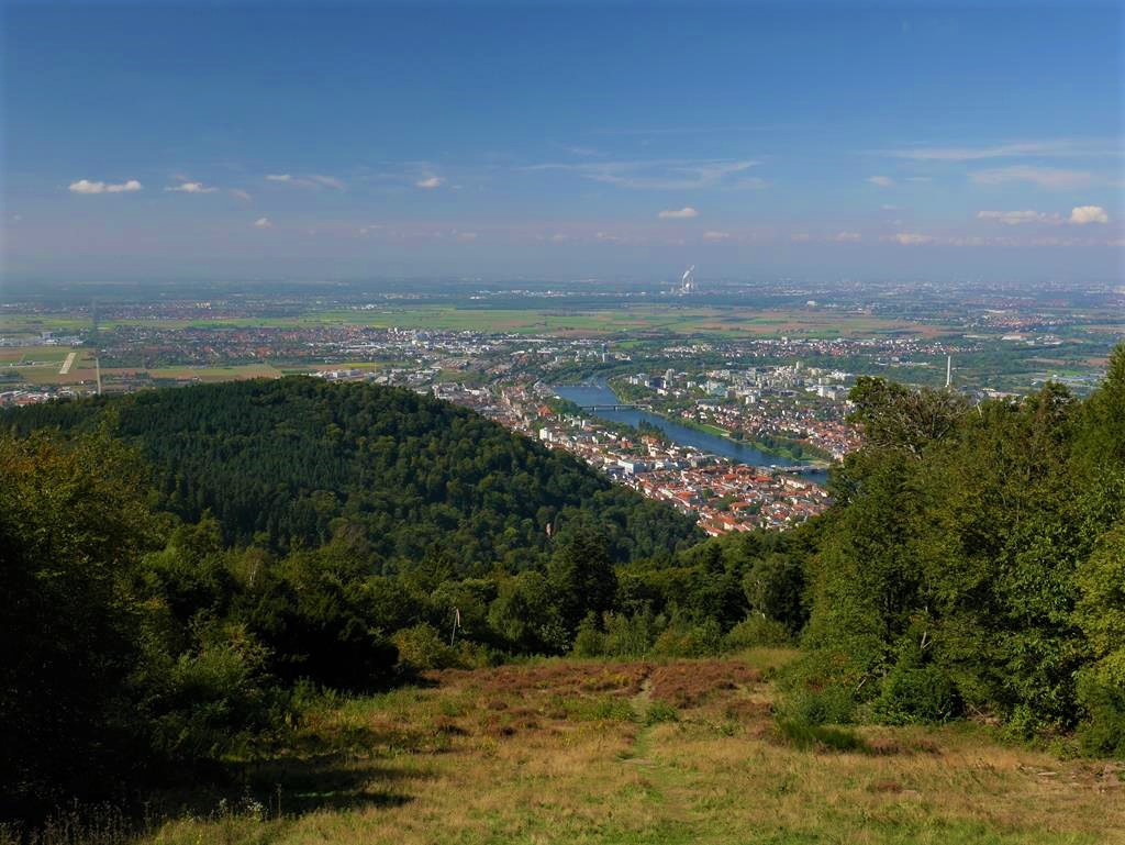 海德堡王座山山頂