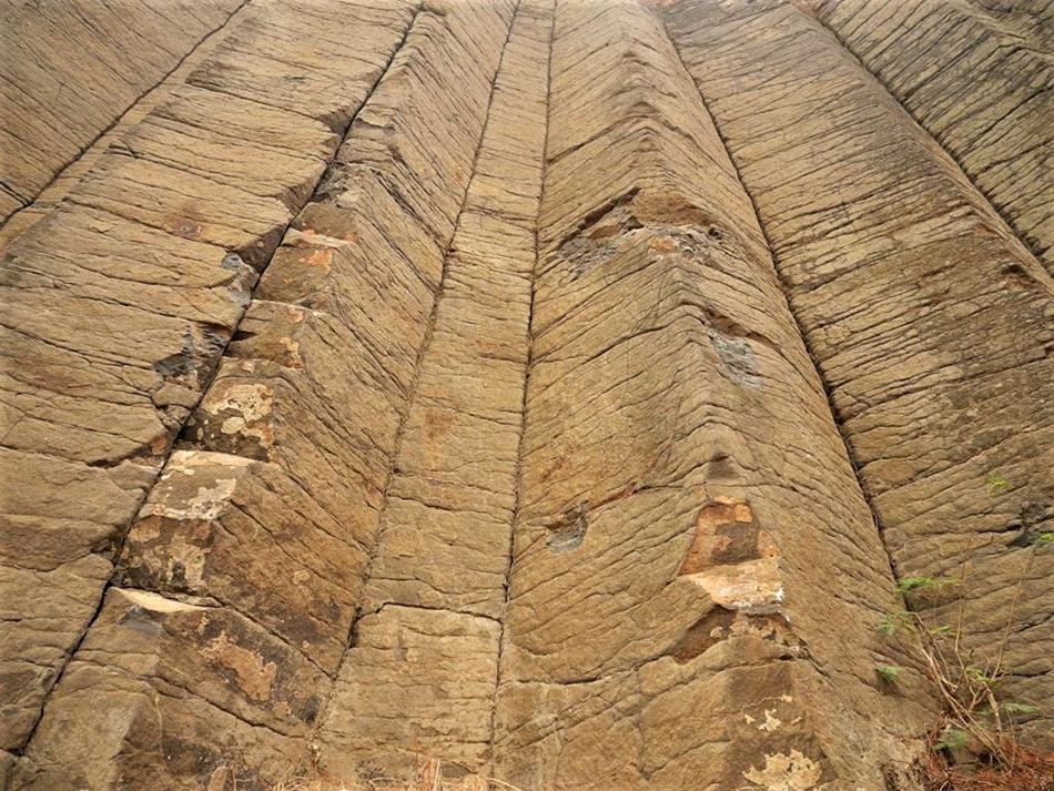 澎湖私房景點三石壁玄武岩