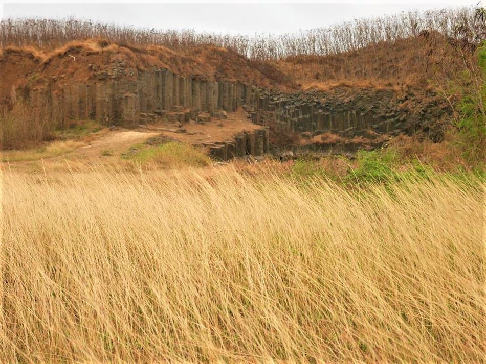 澎湖三石壁玄武岩