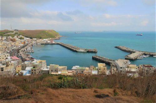 三仙塔眺望外垵漁港