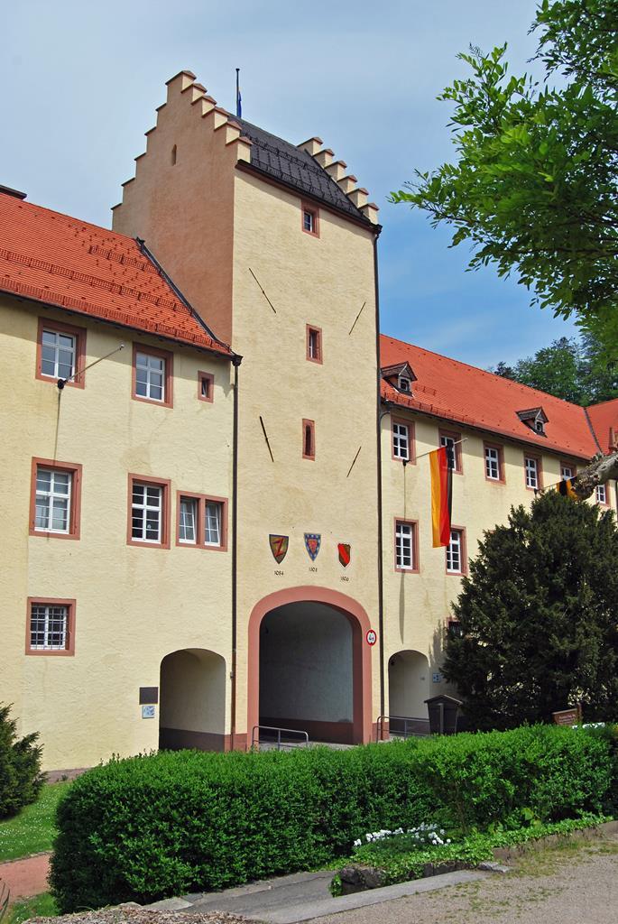 進入市鎮的沃爾法城堡門