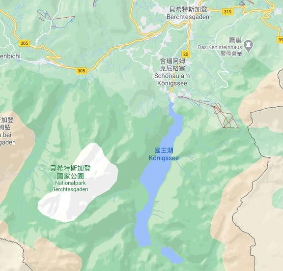國王湖位置