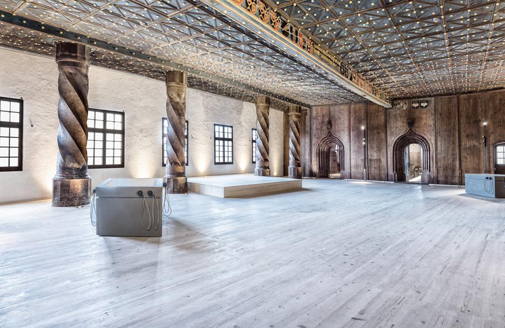 薩爾茲堡Prince's Chambers: The golden hall