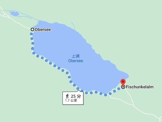 往Fischunkelalm路線