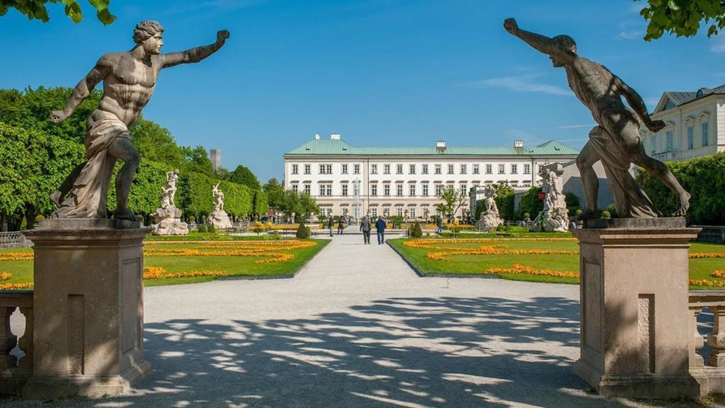 薩爾斯堡景點米拉貝爾宮