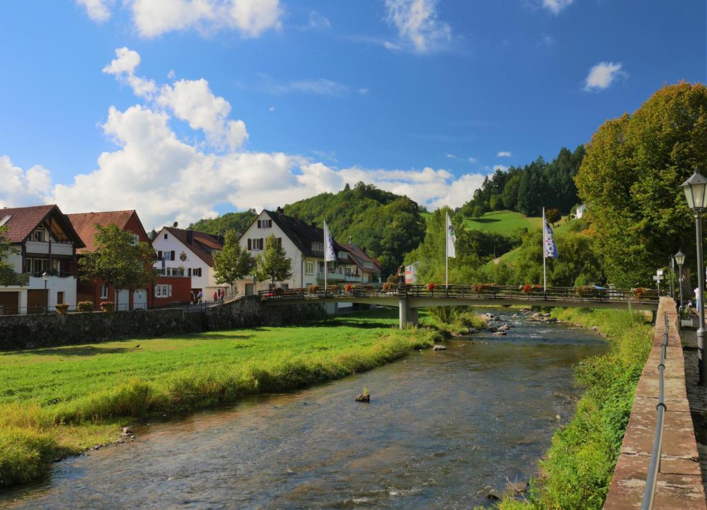 德國黑森林小鎮沃爾法