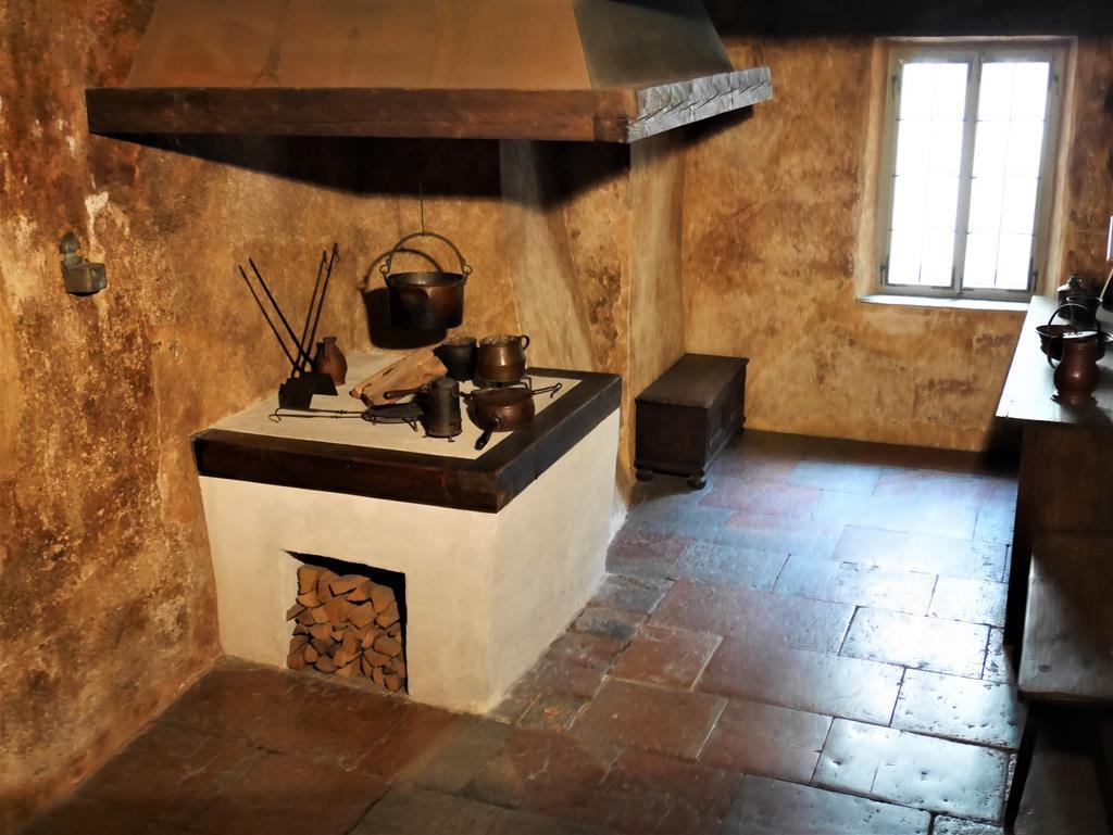 莫札特出生地的住家廚房