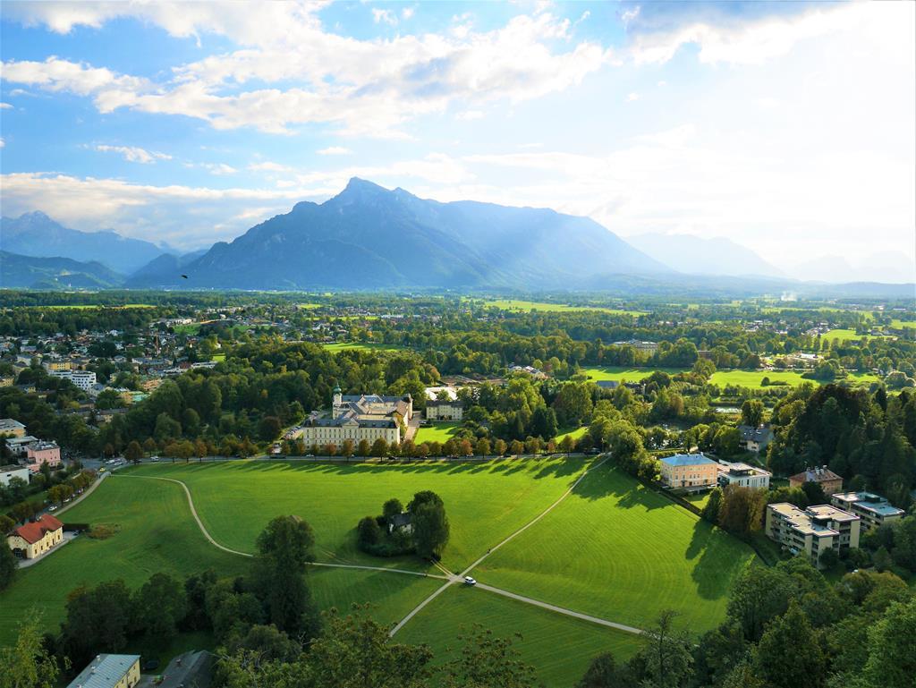 薩爾茲堡南方觀景台眺望美景