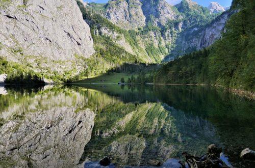 不同角度的上湖鏡面美景
