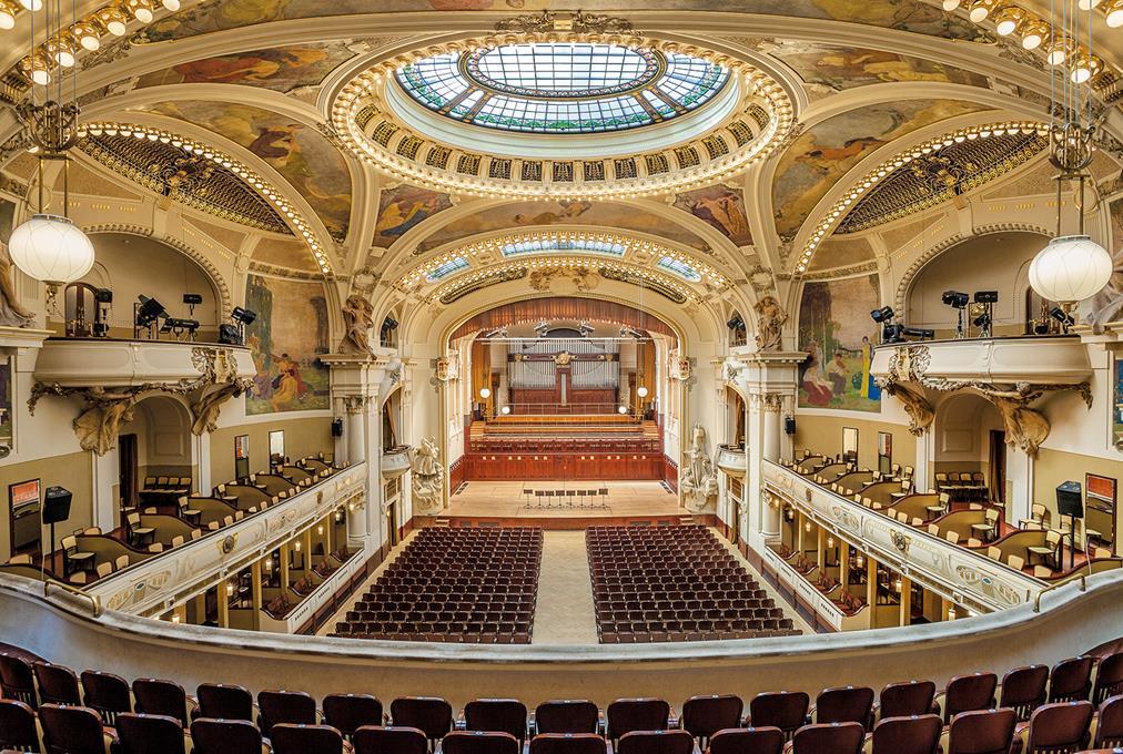 布拉格市民會館Smetana Concert Hall