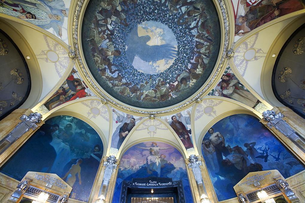 布拉格市民會館內部