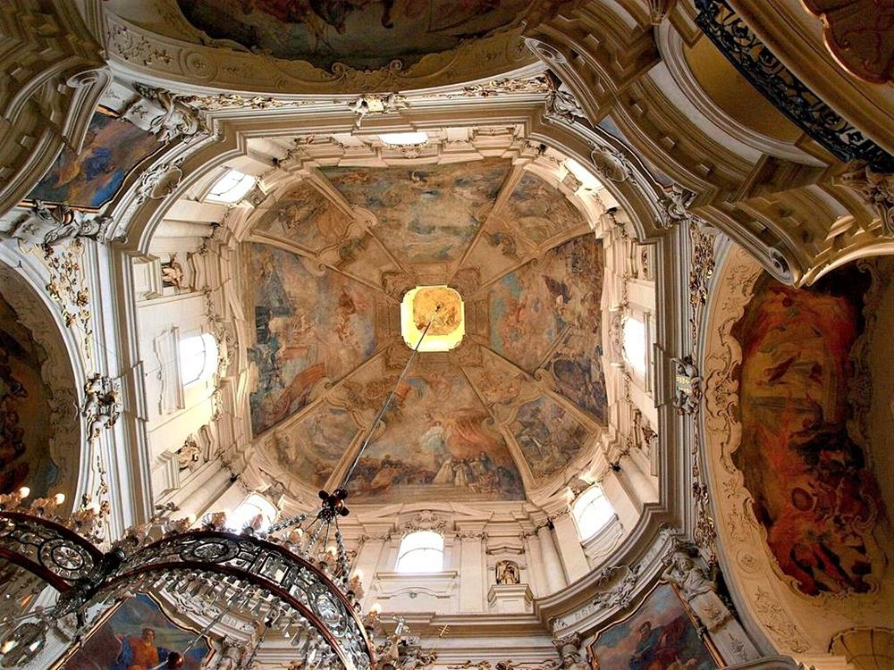 舊城區聖尼可拉斯教堂天頂壁畫