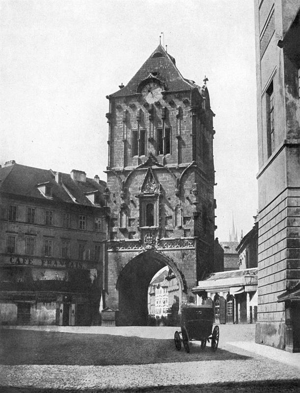 1856年的火藥塔外觀